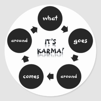 It's Karma! Stickers