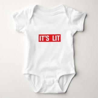it's Lit One piece Baby Bodysuit