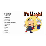 its magic silly magician pack of standard business cards