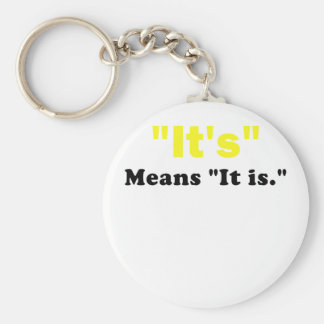 It's means it is basic round button key ring