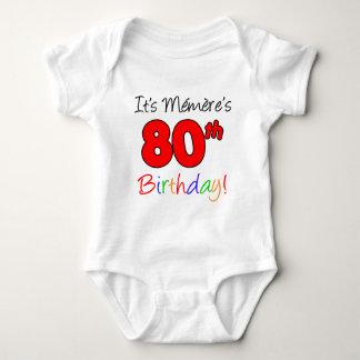 It's Memere's 80th Birthday Tee Shirt