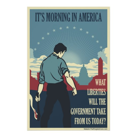 It's Morning In America Poster