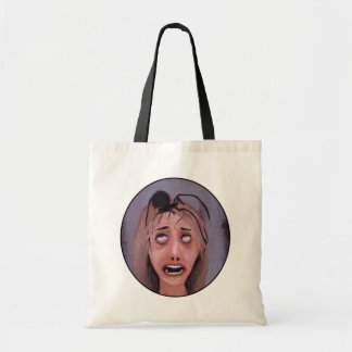 It's much too late to get away... budget tote bag