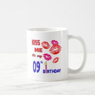 It's my 09th Birthday Basic White Mug