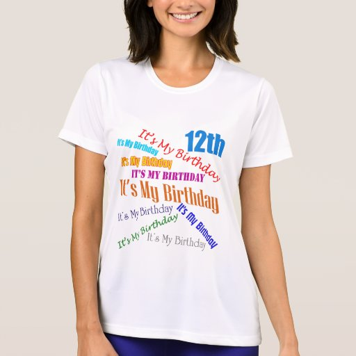 It's My 12th Birthday Gifts Tee Shirts