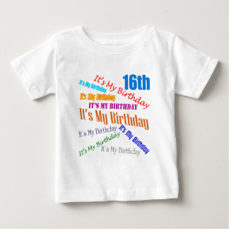 It's My 16th Birthday Gifts Tees
