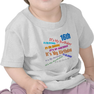 It's My 16th Birthday Gifts T Shirt