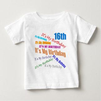 It's My 16th Birthday Gifts Tshirt