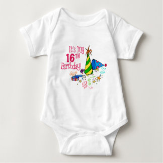 It's My 16th Birthday (Party Hats) Tshirt