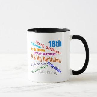 It's My 18th Birthday Gifts Mug