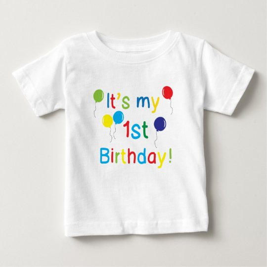 It's my 1st Birthday Baby T-Shirt