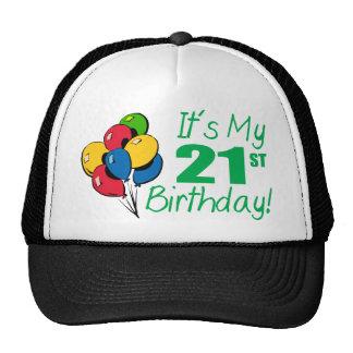 It's My 21st Birthday (Balloons) Hats
