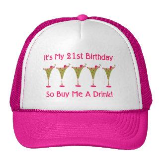 It's My 21st Birthday Cap