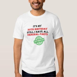 It's My 30th Birthday Tshirt