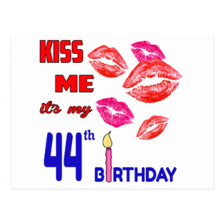 It's my 44th Birthday Postcard