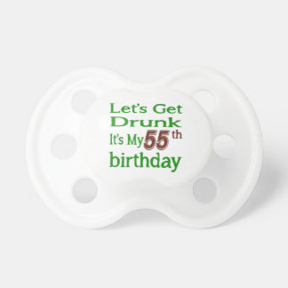 It's My 55th Birthday Baby Pacifiers