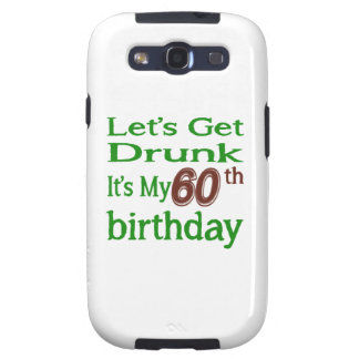 It's My 60th Birthday Samsung Galaxy S3 Cases