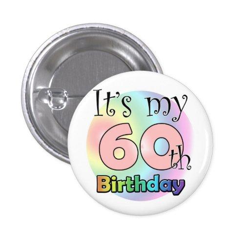 It's my 60th Birthday (pink)