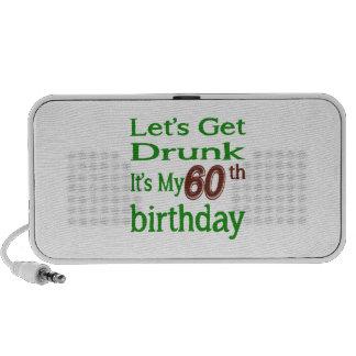 It's My 60th Birthday Portable Speaker