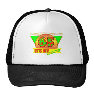 It's My 65th Birthday Gifts Hat