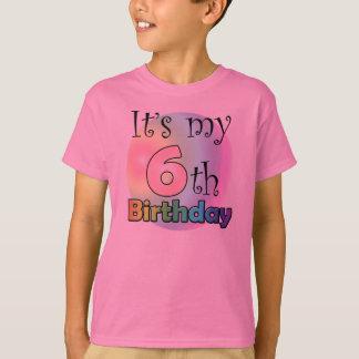 It's my 6th Birthday (girl) T-Shirt