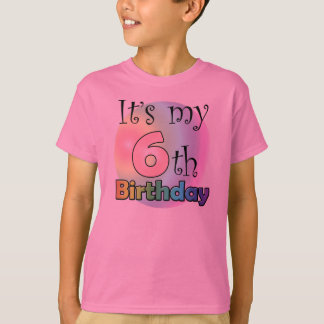 It's my 6th Birthday (girl) Tshirts
