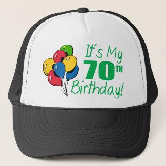 It's My 70th Birthday (Balloons) Trucker Hat