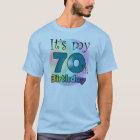 It's my 70th Birthday (Blue) T-Shirt