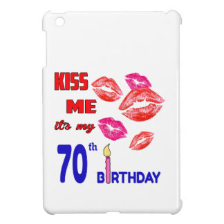 It's my 70th Birthday iPad Mini Cover