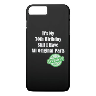 It's My 70th Birthday iPhone 7 Plus Case