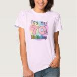 It's my 70th Birthday (Pink) Shirt