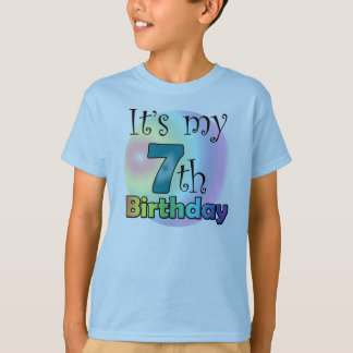 It's my 7th Birthday T-Shirt
