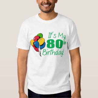 It's My 80th Birthday (Balloons) Shirts