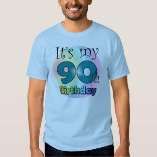 It's my 90th Birthday (Blue) T-shirt
