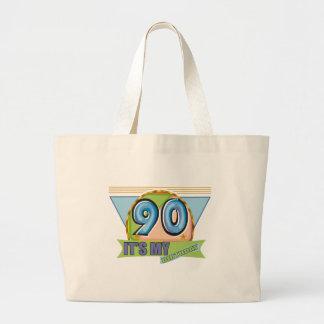It's My 90th Birthday Gifts Jumbo Tote Bag