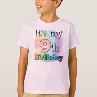 It's my 9th Birthday (girl) T-Shirt