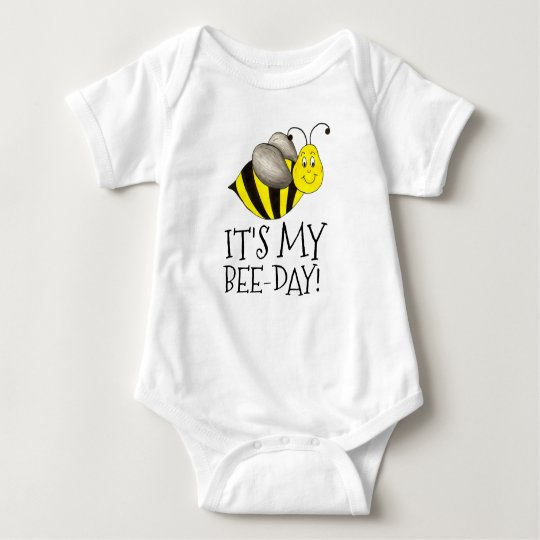 It's My Bee-Day Birthday Bumblebee Bumble Bee Bday