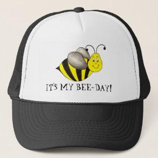 It's My Bee Day Birthday Yellow Bday Bumblebee Hat