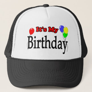 It's My Birthday Balloons Birthday Hat