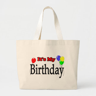 It's My Birthday Balloons Tote Bag