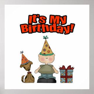 Its my birthday BOY Print