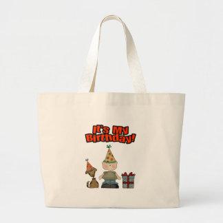 Its my birthday (BOY) Canvas Bags