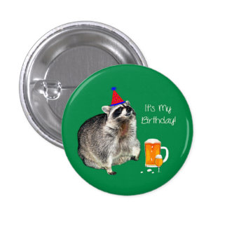 It's My Birthday for Adults Pins