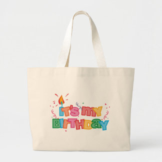 It's My Birthday Letters Bag
