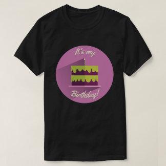 It's My Birthday Shirt Purple & Green Custom