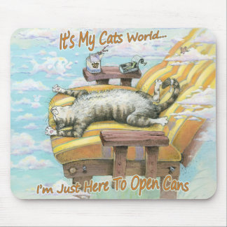 It's My Cats World Mouse Pad