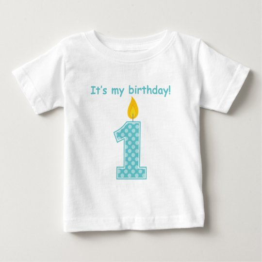 It's My First Birthday Baby T-Shirt