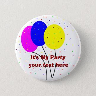 It's My Party, 6 Cm Round Badge
