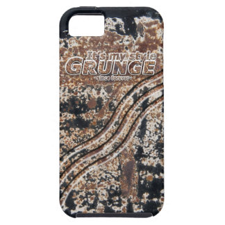 It's My Style GRUNGE Rusty Letters iPhone 5 Covers