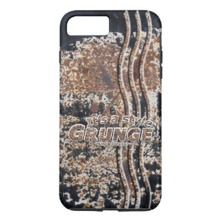 It's My Style GRUNGE Rusty Letters iPhone 7 Plus Case